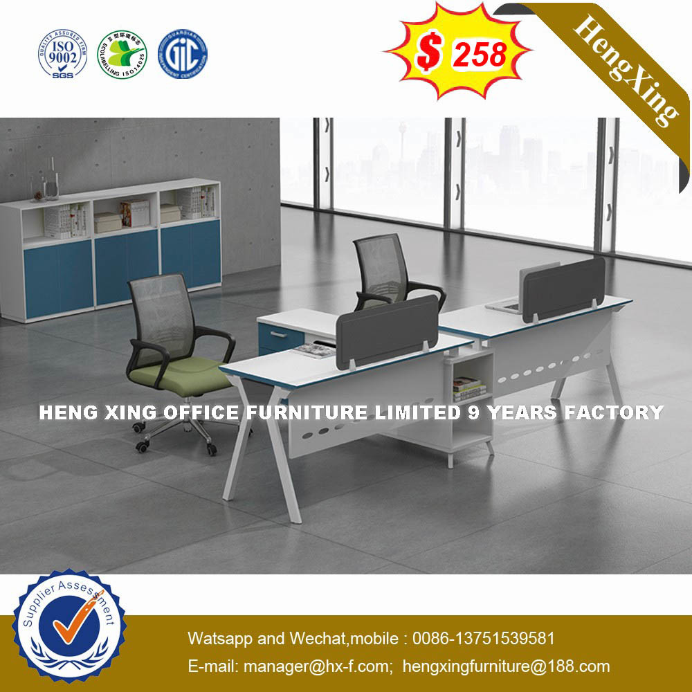 Cheap Price Furniture Hot Item Cheap Price Mfc Wooden Table Mahogany Color Office Furniture Desk Ul Nm037