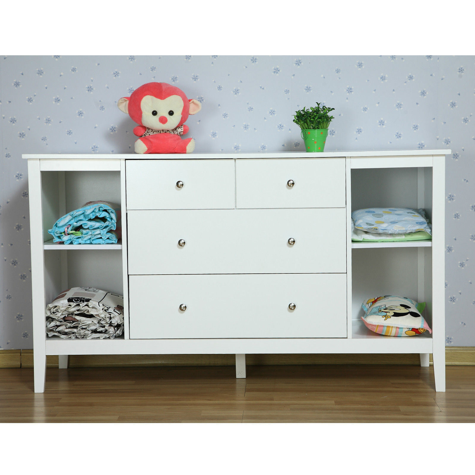 Changing Table Chest Of Drawers Hot Item White New Zealand Pine Baby Change Table 4 Chest Of Drawers