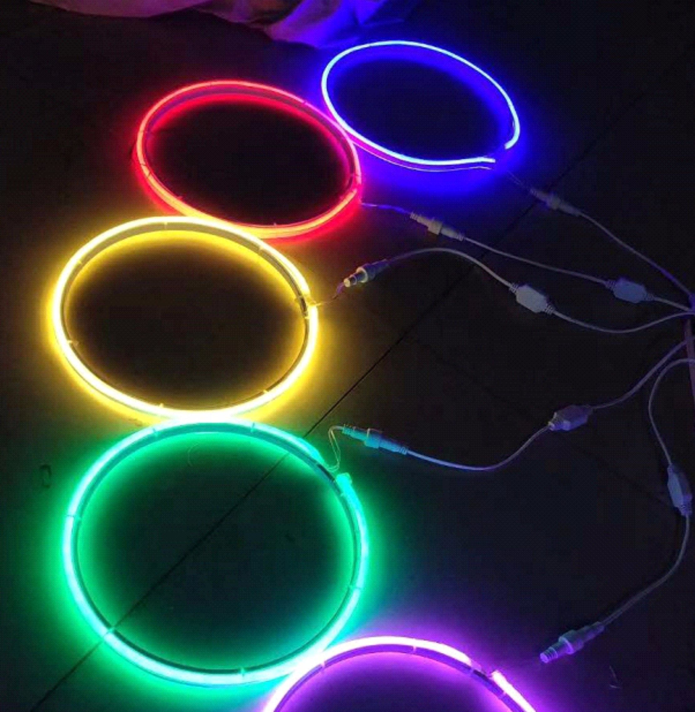 Light Decoration Diwali Hot Item Led Neon Light With Iron Frame 2d Motif Light For Diwali Outdoor Tree Decoration