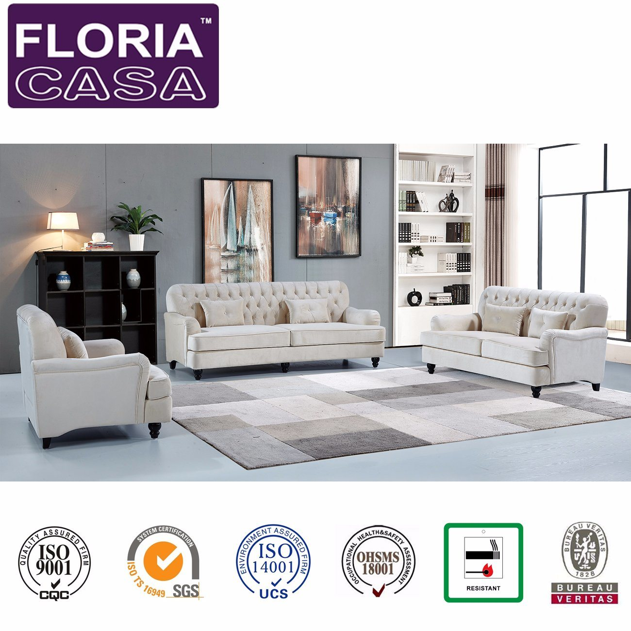 Made Sofa Velvet Hot Item Made In China Home Furniture Modern Velvet Fabric Sofa Set