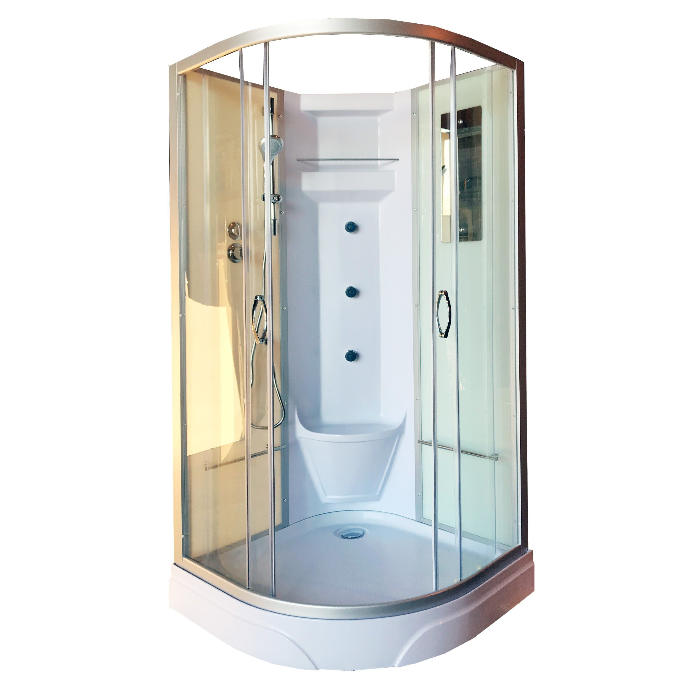 China Top Shower Room Cabin Bathroom Shower Room Price Shower Room Enclosure China Shower Cubicle Aluminum Profile Shower Room Enclosure