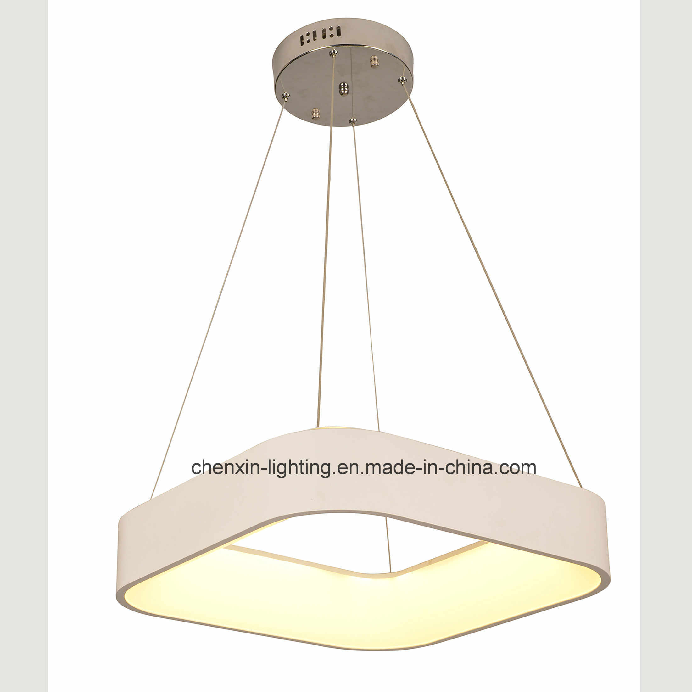 Modern Lighting Quotes Hot Item Modern Square Led Acrylic Hanging Light Pendant Lamp