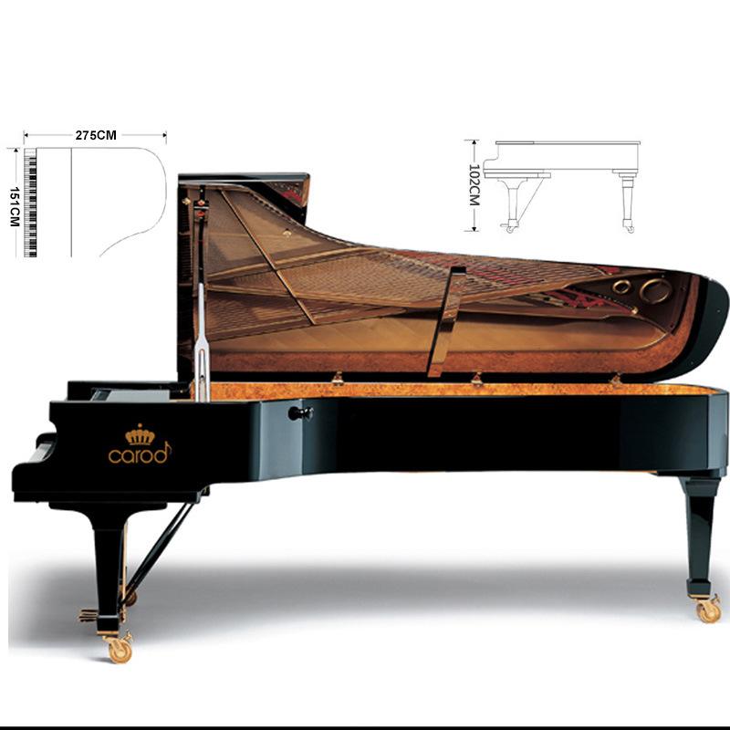 China Black Light Concert Grand Piano - China Piano, Concert Piano