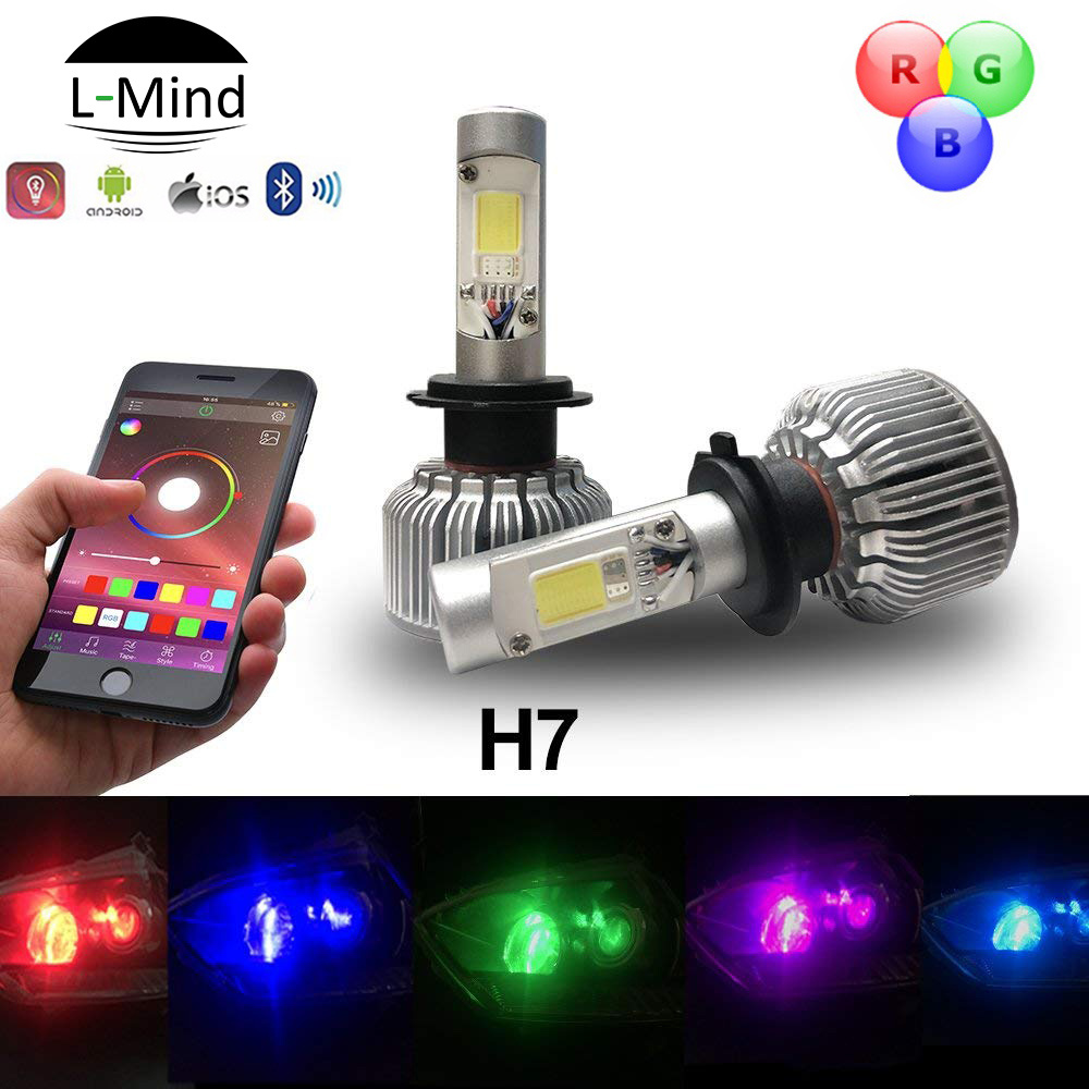 Led Lampen 12v Hot Item 12v 24v Rgb Led Lampen Auto Car Headlamp Osram Audi Headlight Bulbs Led H7