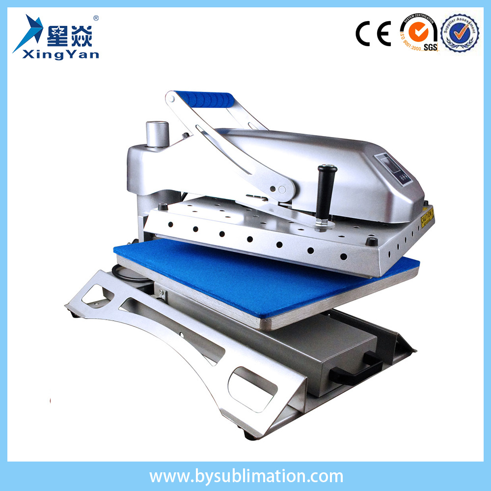Sublimation Press Hot Item Heat Press Machine And Sublimation Printer 360 Degree Swinger Clamshell Heat Press
