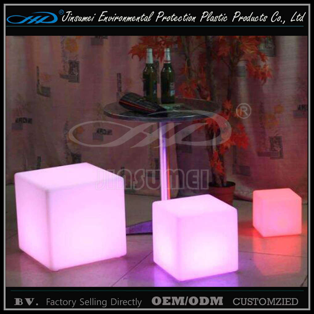 Led Lighting Prices Hot Item 20cm Cube Led Lighting With Pe Material Factory Prices