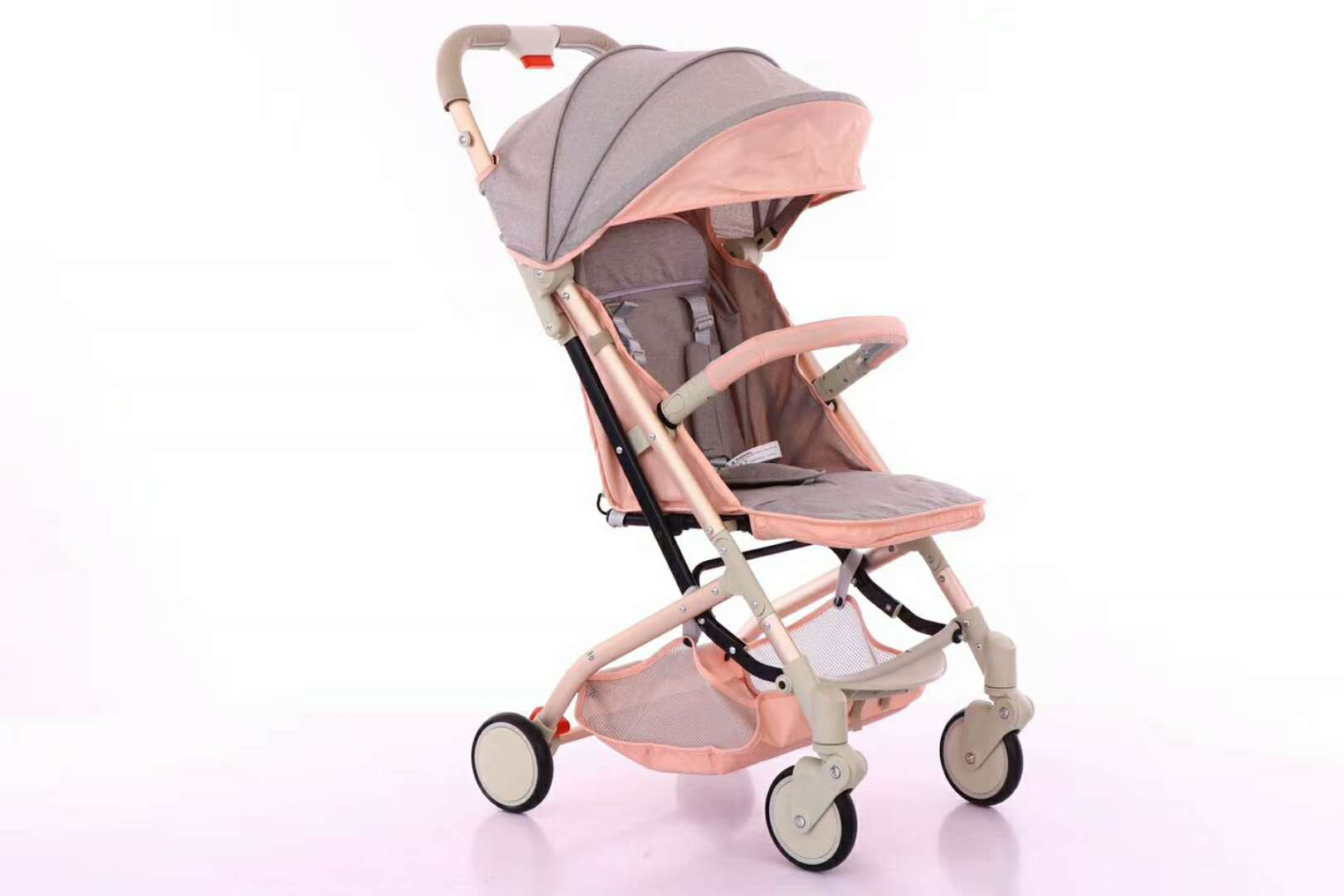 Babyone Baby Jogger Hot Item 2018 New Model Aluminum Alloy Frame Lightweight Carrier Baby One Button Folding Polyester Material Baby Strolle