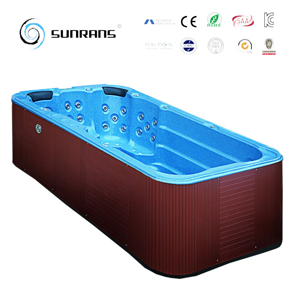 Jacuzzi Pool Manual Hot Item Hot Sale 6 Persons Capacity Freestanding Air Massage Swim Spa Pool With Balboa Spa Manual