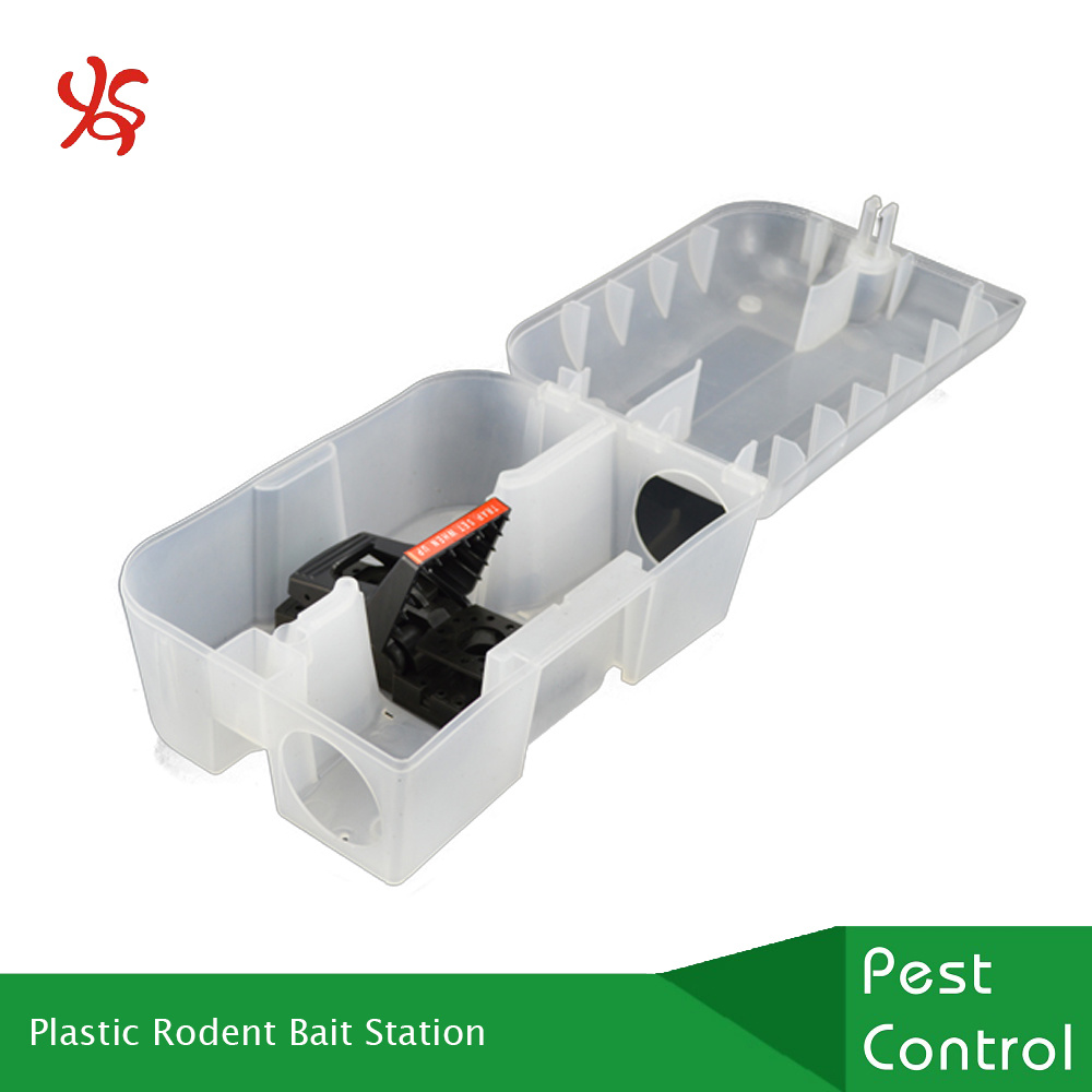 Mouse Bait Boxes Hot Item Tamper Resistant Plastic Rodent Bait Station For Mouse Mice Rat Trap