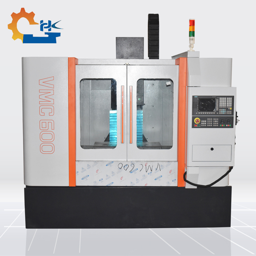 Installation Vmc Prix China Vmc550 4 Axis Milling Machine With Cnc System Prix China
