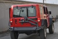 Jeep Jk Spare Tire Ski Rack
