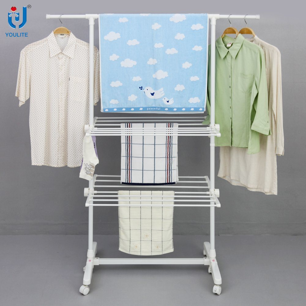 Cloth Hanger Stand Hot Item Telescopic Cloth Hanger Stand