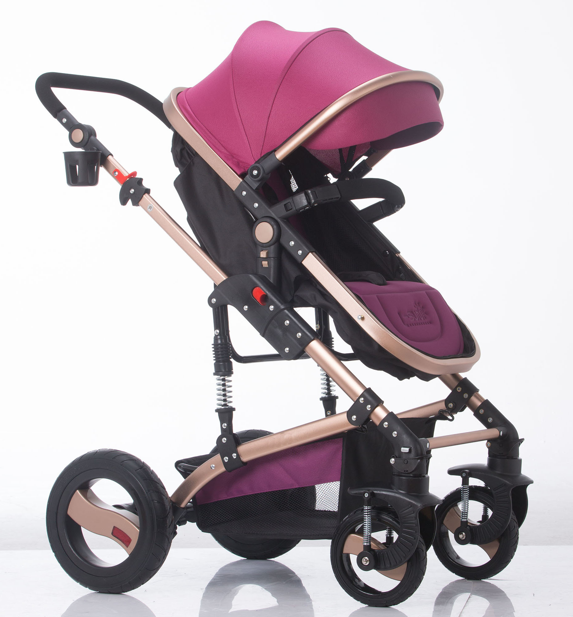 Carriage Type Strollers Hot Item New Design European Luxury Fold Baby Carriage With Ce Certificate