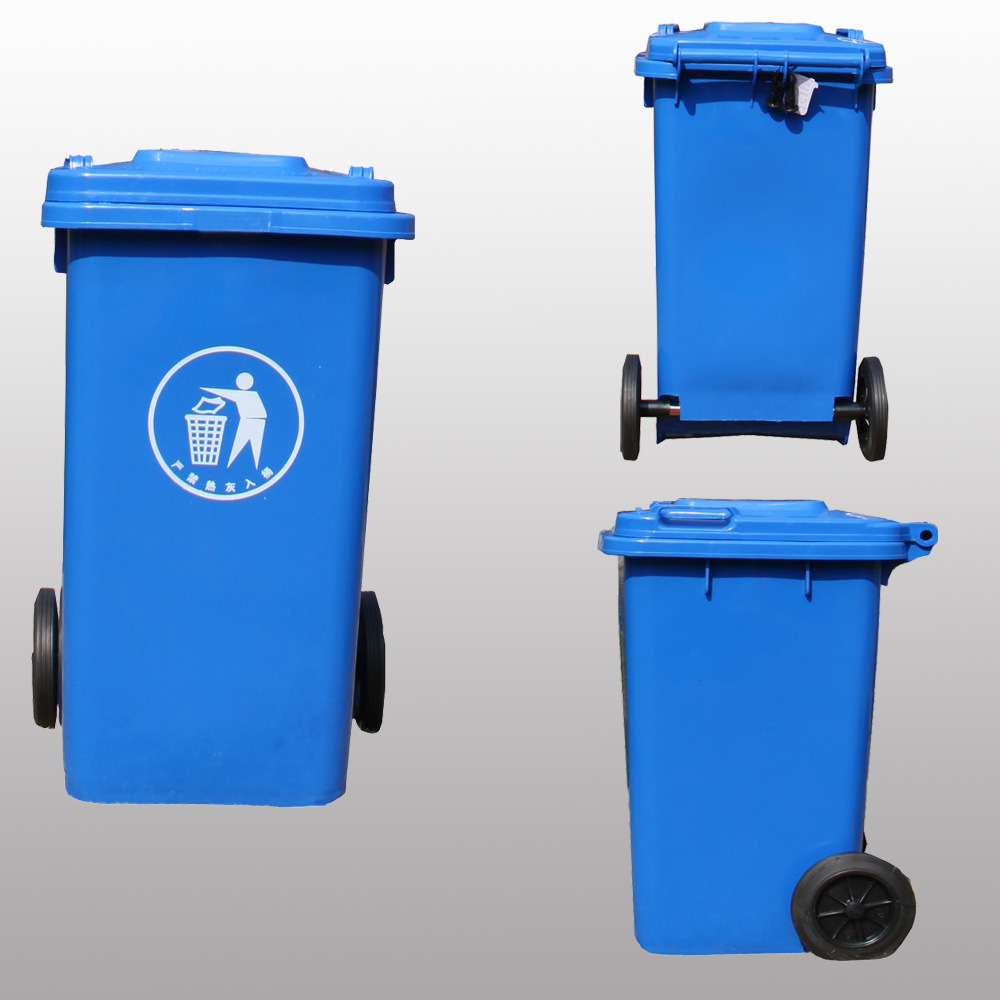 Cool Trash Bins China 120l Cheap Multicolor Plastic Wheeled Outdoor Trash Bins For