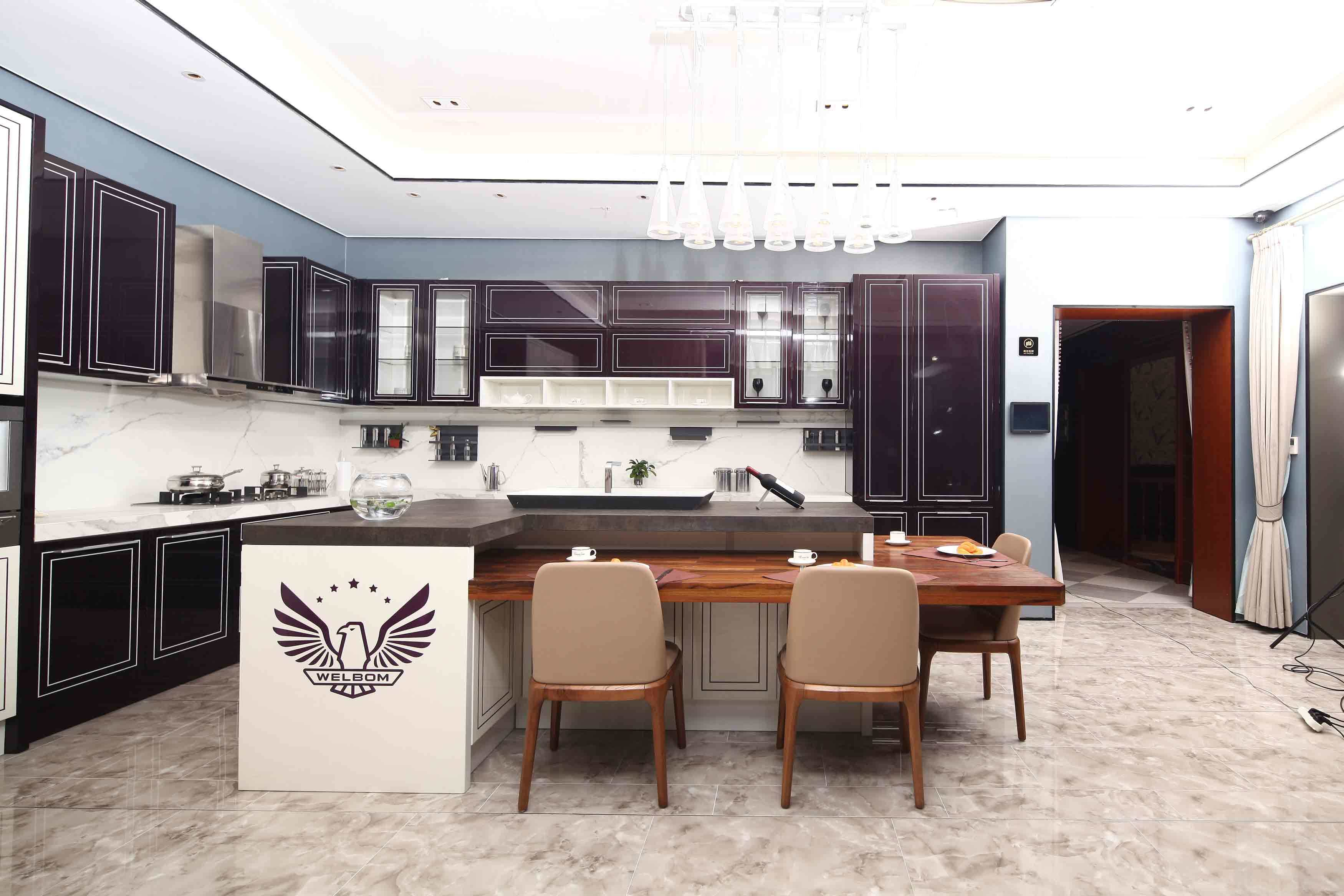 High End Kitchen Design Images China Welbom High End Modern Dupont Paint Kitchen Designs China