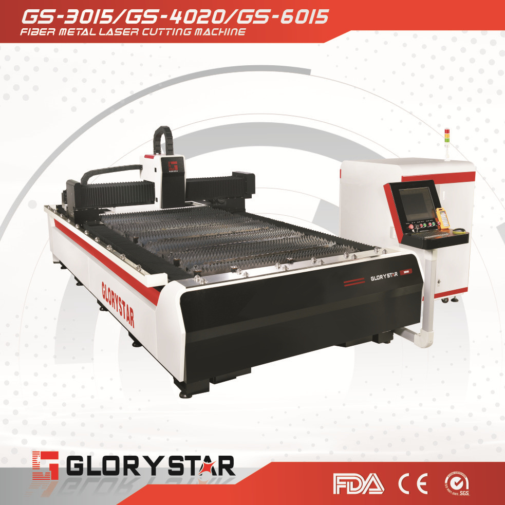 Laser Cutting Machine Metal Hot Item Glorystar Small Fiber Laser Metal Cutting Machine