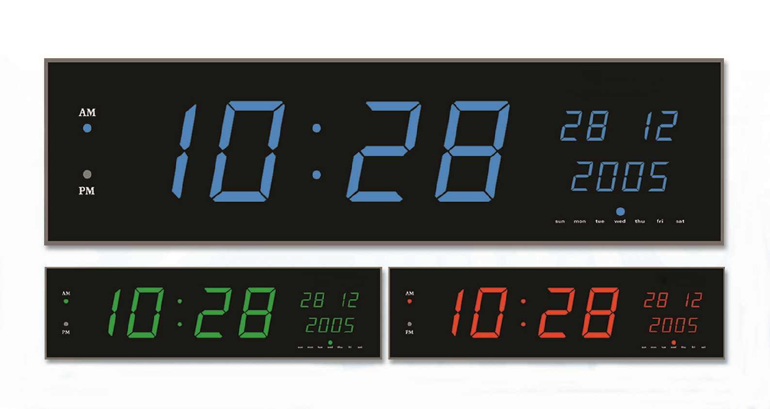 Digital Clock Hot Item Led Large Display Digital Electronic Calendar Clock