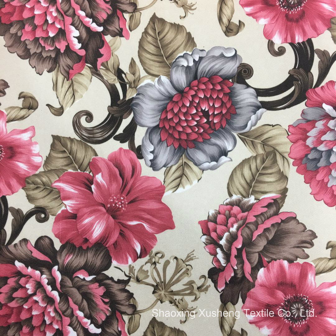 Sofa Fabric Hot Item 2018 Flower Patterns Sofa Fabric Used For Home Textiles Printed Fabric
