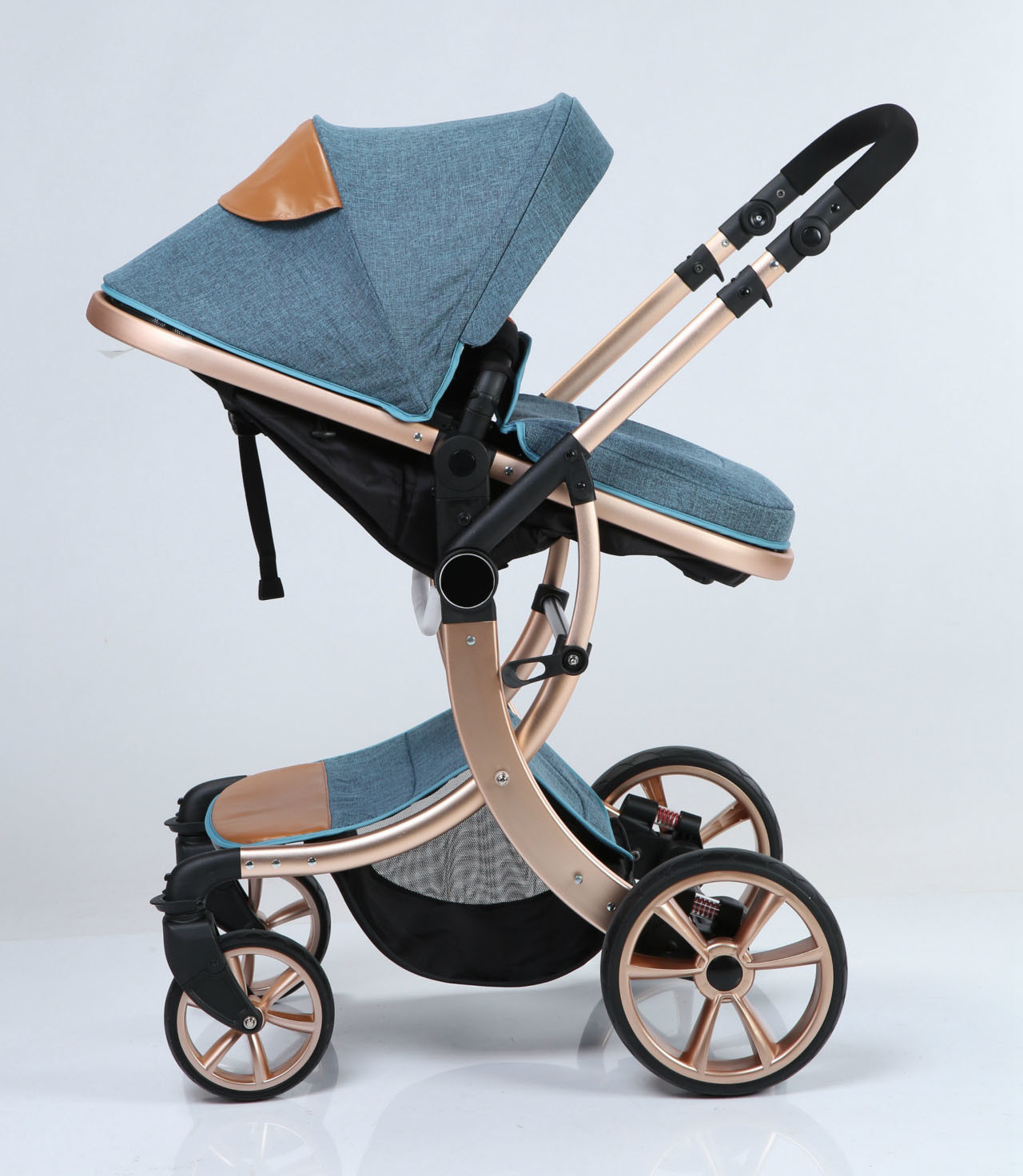 Carriage Type Strollers Hot Item European Fold Baby Carriage With En1888 2012 Approval