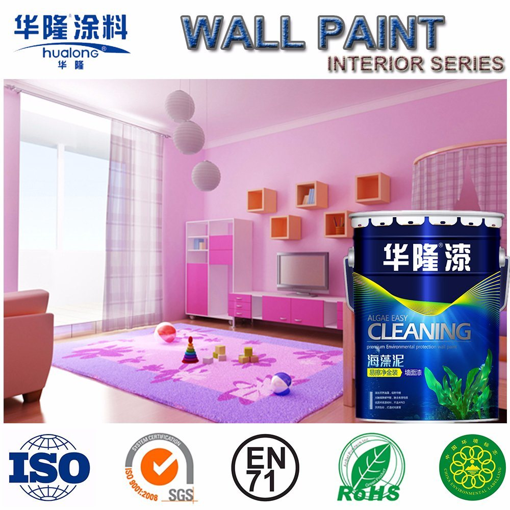 Latex Ral 9010 Hot Item Hualong Bamboo Full Effect Inner Latex Wall Paint