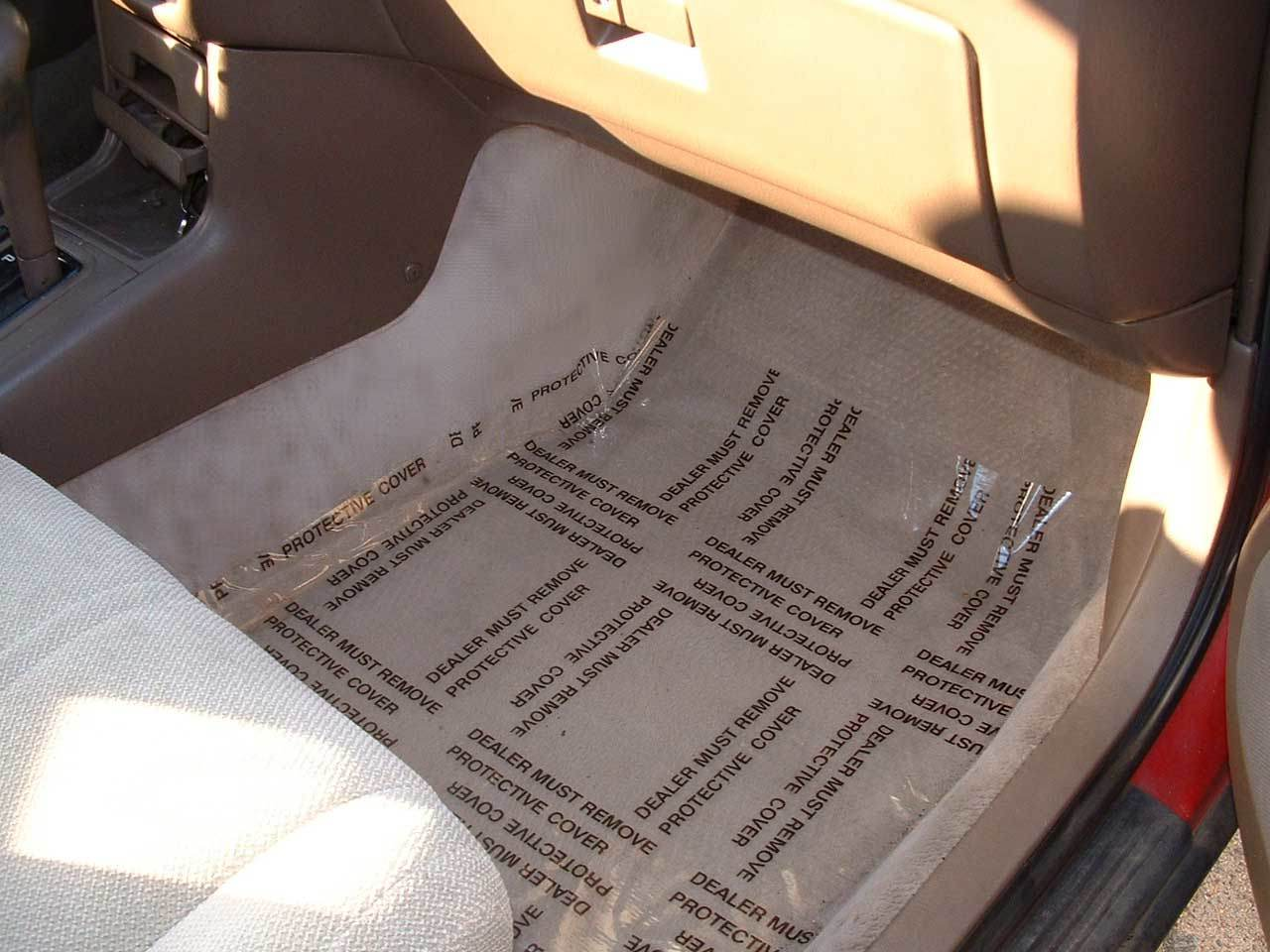 China Protective Film For Auto Carpet China Protective