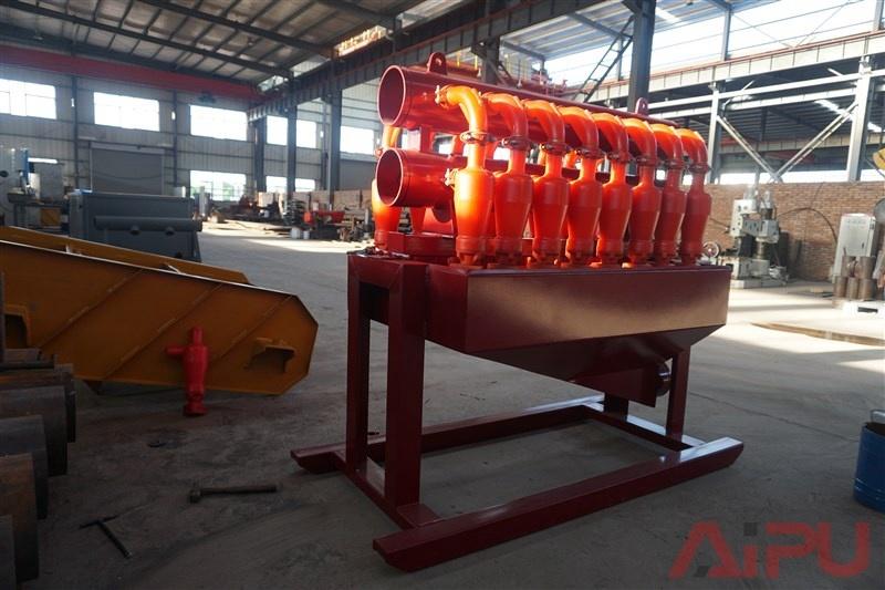 China Flow Line Desilter in Drilling Mud Solids Control - China