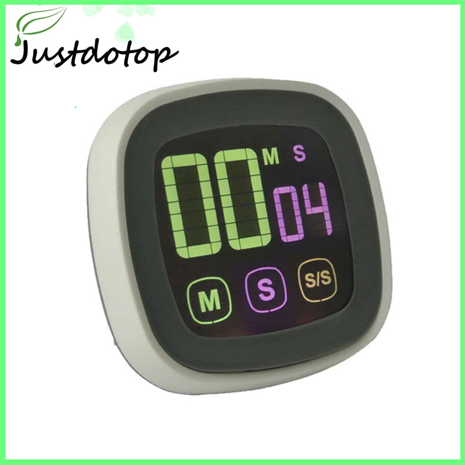 Alarm Timer Hot Item Electric Shower Digital Alarm Timer Kitchen With Touch Screen Clock Thermometer