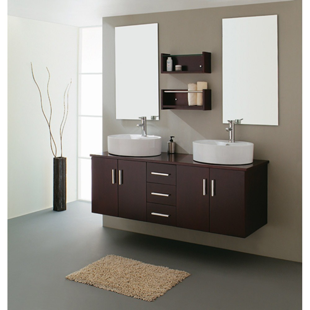 Bathroom Sinks And Vanities China Double Sink Bathroom Vanities 21730b - China