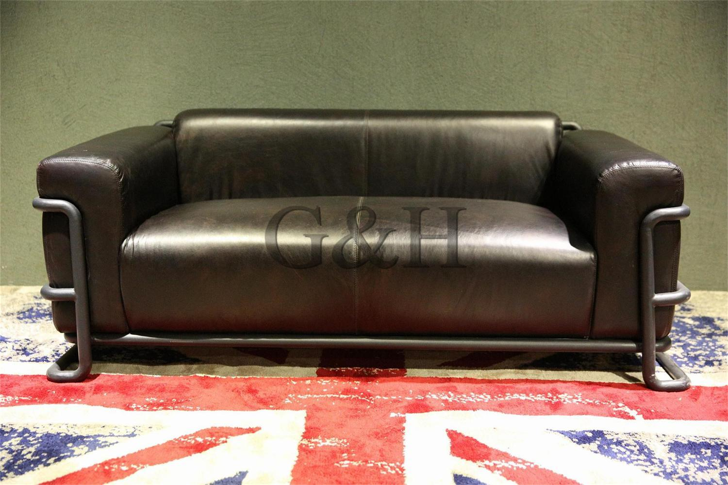Retro Sofa Leather Hot Item European Chesterfield Leather Sofa And American Retro Sofa