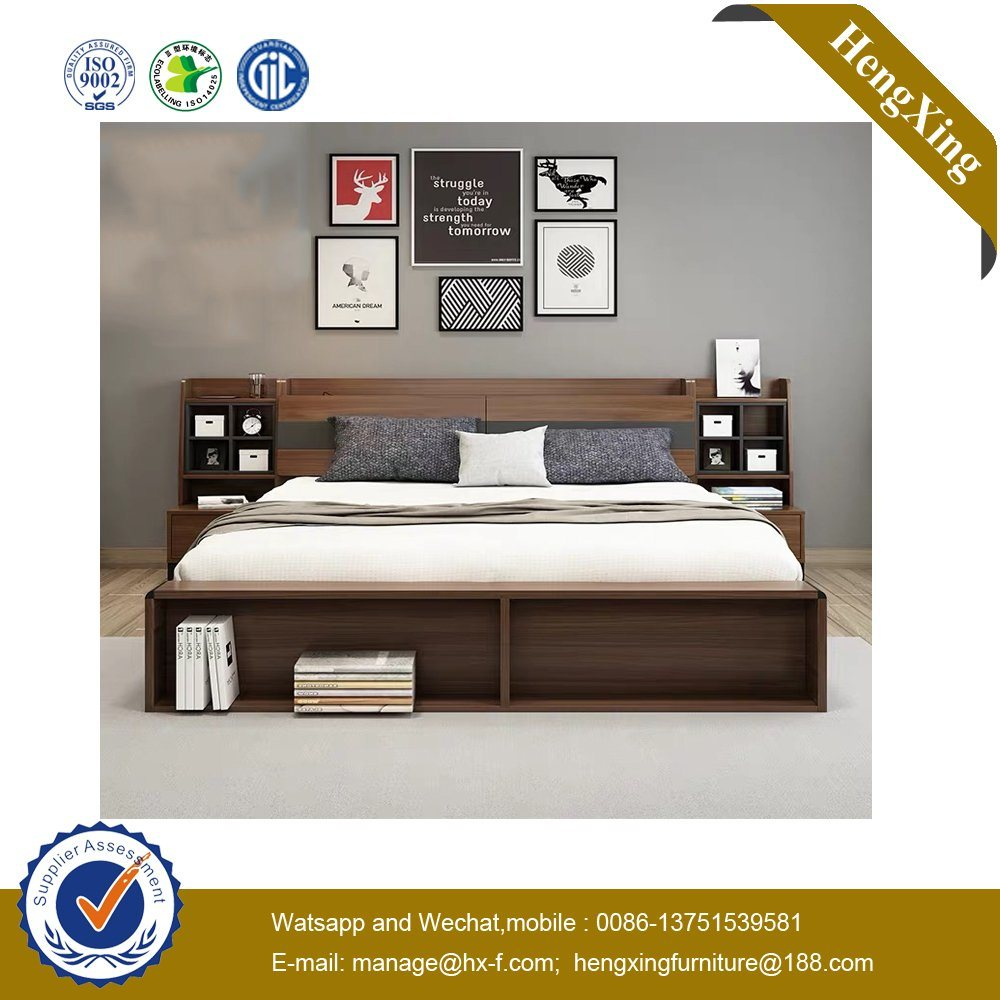 Size Of Queen Bed Hot Item Luxury Home Hotel Wooden Mdf Bedroom King Size Double Queen Bed Ul 9be130
