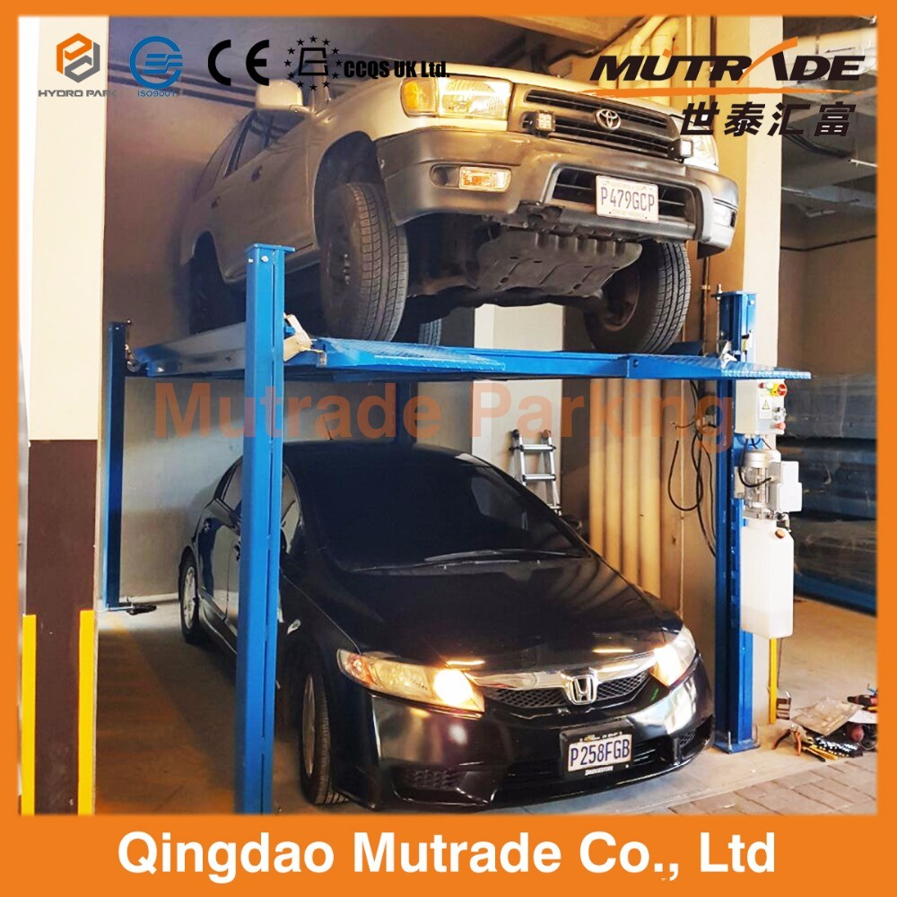 Car Lift In Garage Hot Item Residential Home Hydraulic Stacker Four Post Car Lift Garage