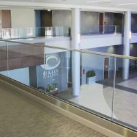 China Free Sample 2017 Latest Aluminum Glass Balcony