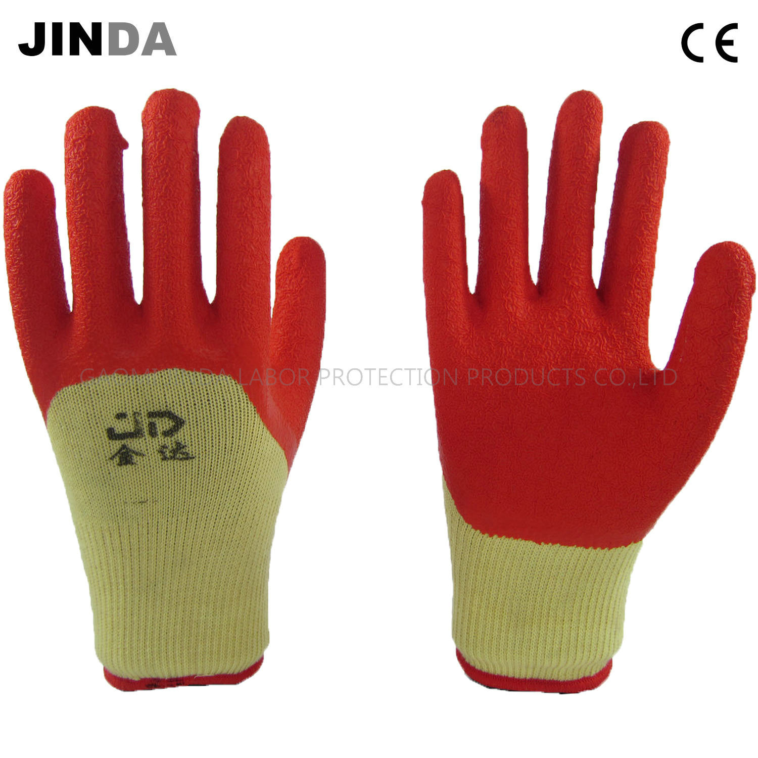 Labor Safety China Latex Coated Crinkle Finish Industrial Labor Safety Work
