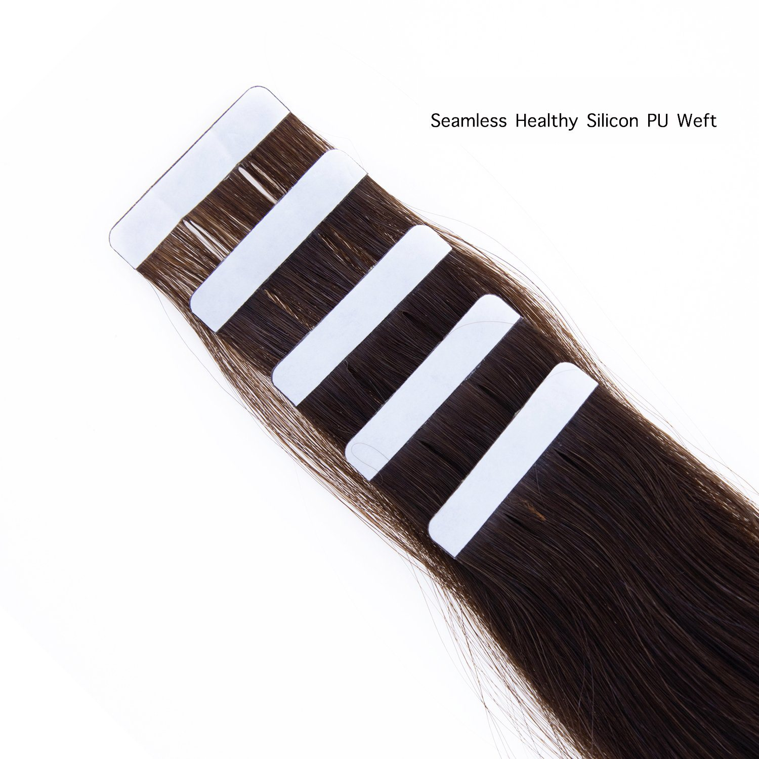 China Taped Hair Extension 20pcs 2 Dark Brown Body Wave Real Human Hair Double Drawn Salon Quality Photos Pictures Made In China Com