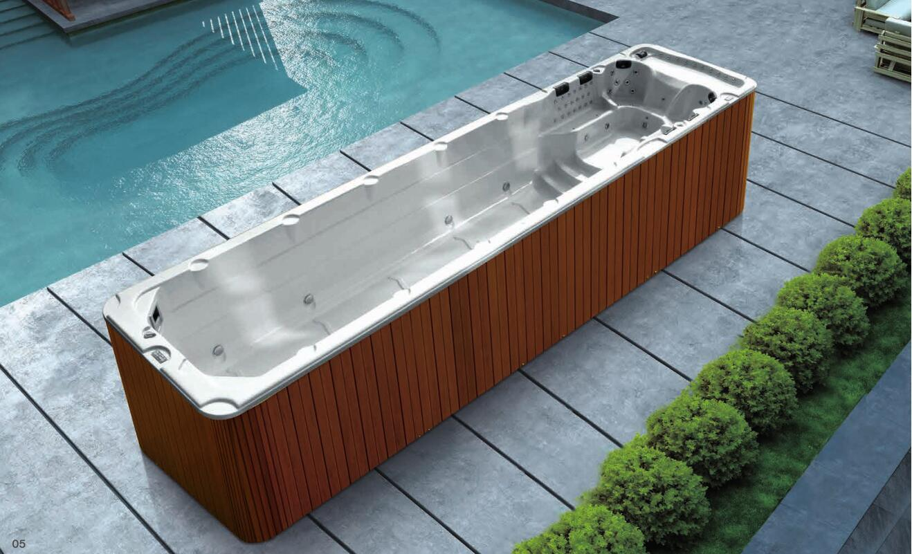 Whirlpool Outdoor Swim Spa Hot Item 10 6m Multifunctional Acrylic Whirlpool Swim Spa Swimming Pool M 3326