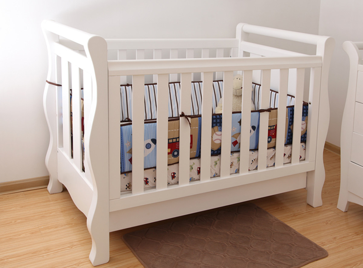 Cot Baby China Wooden Baby Cot Baby Crib In White For Australia