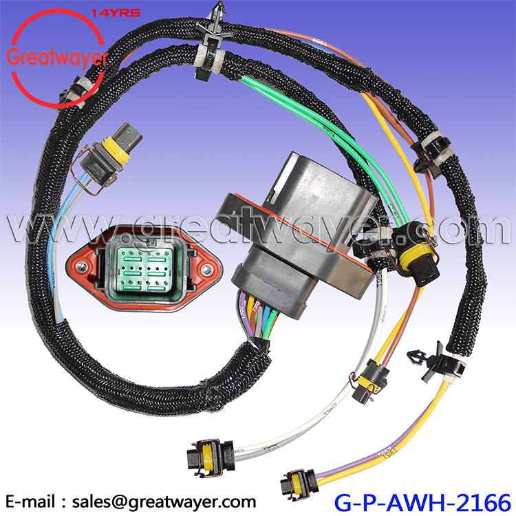 China Caterpillar C9 Engine Injector Fuel Wiring Harness 330d 336D