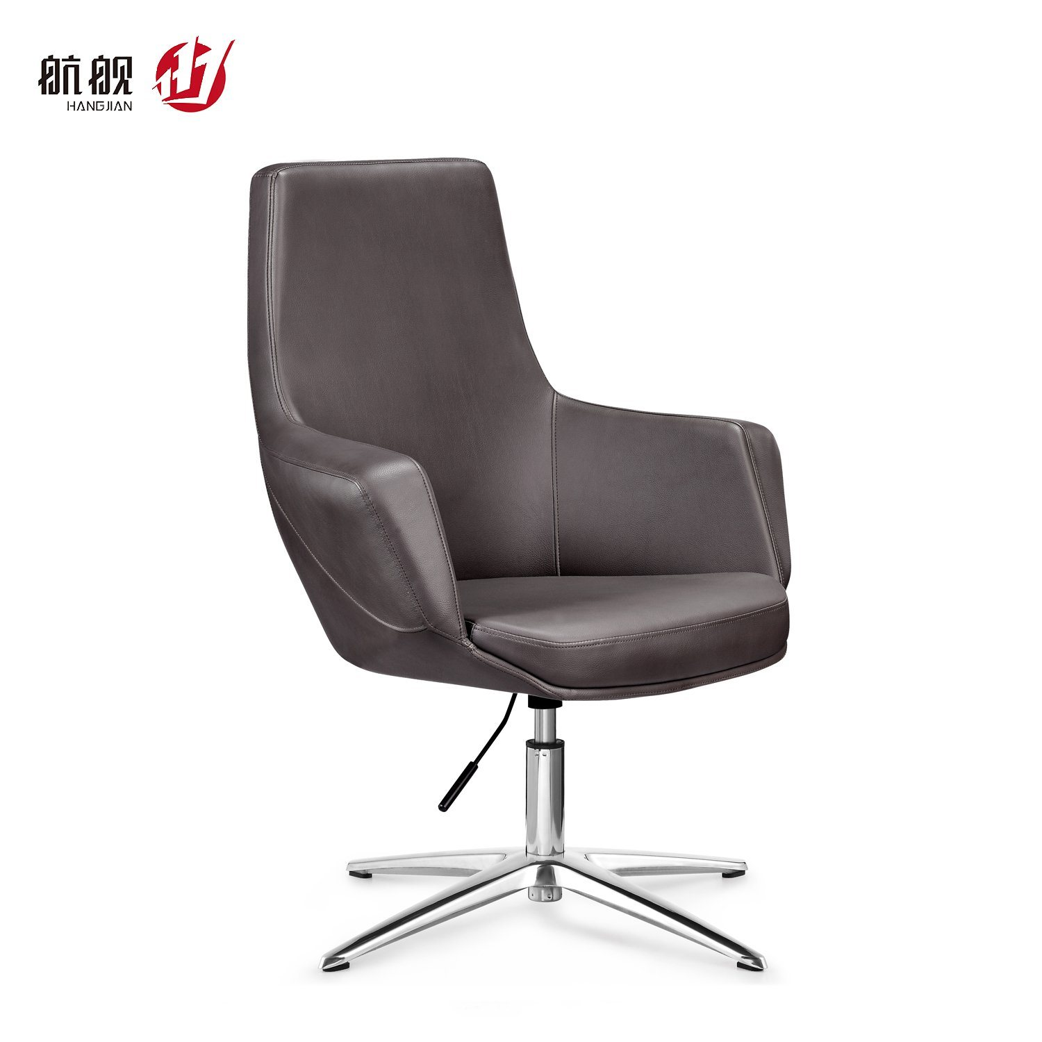 China Reception Meeting Room Leather Office Guest Chairs China Modern Chair Swivel Chair