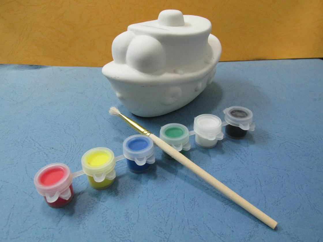 Diy Resistive Load Bank China Diy Paint It Yourself Little Ship Bank For Children China