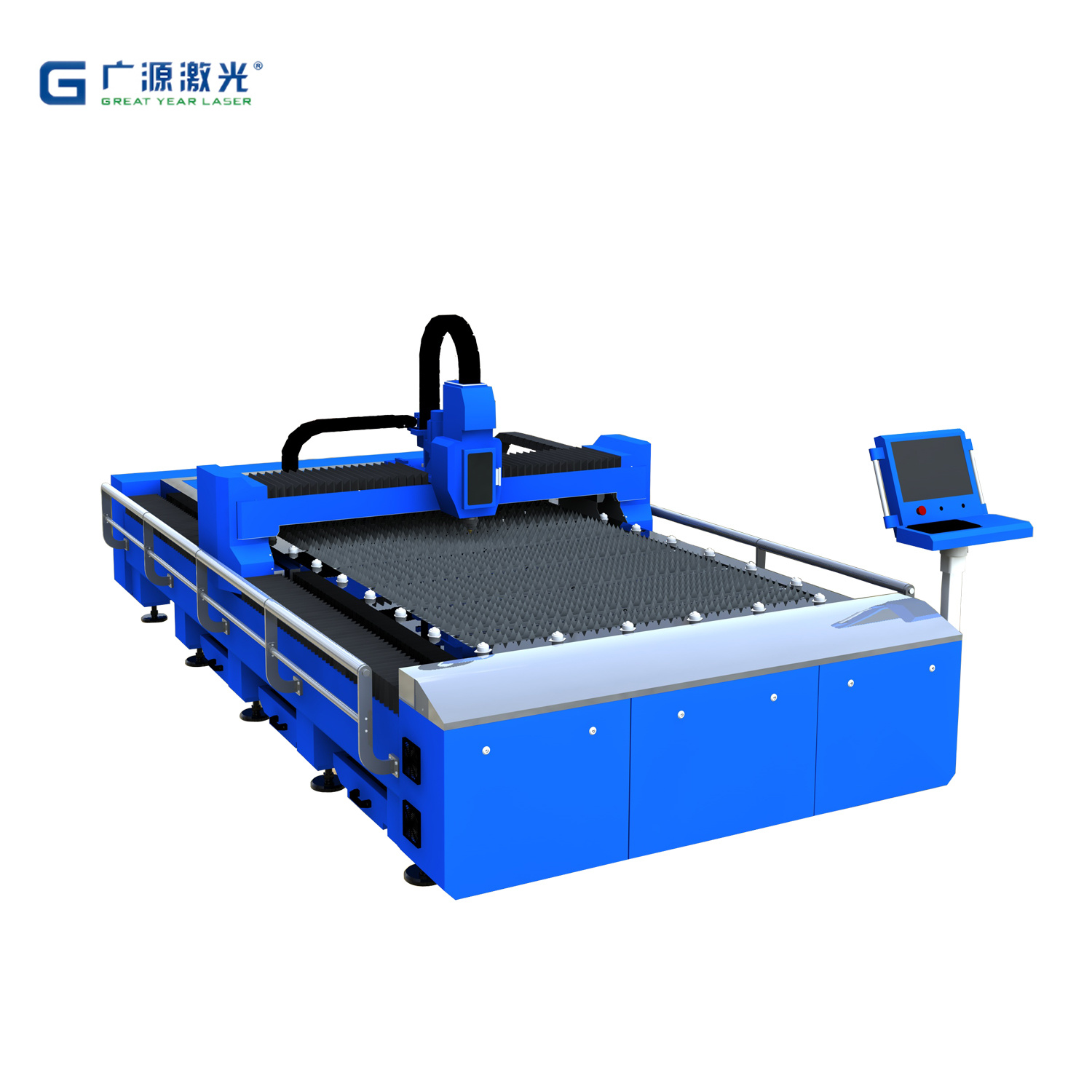 Laser Cutting Machine Metal Hot Item Fiber Laser Metal Cutting Machine Metal Laser Cutter Gy 1530fc