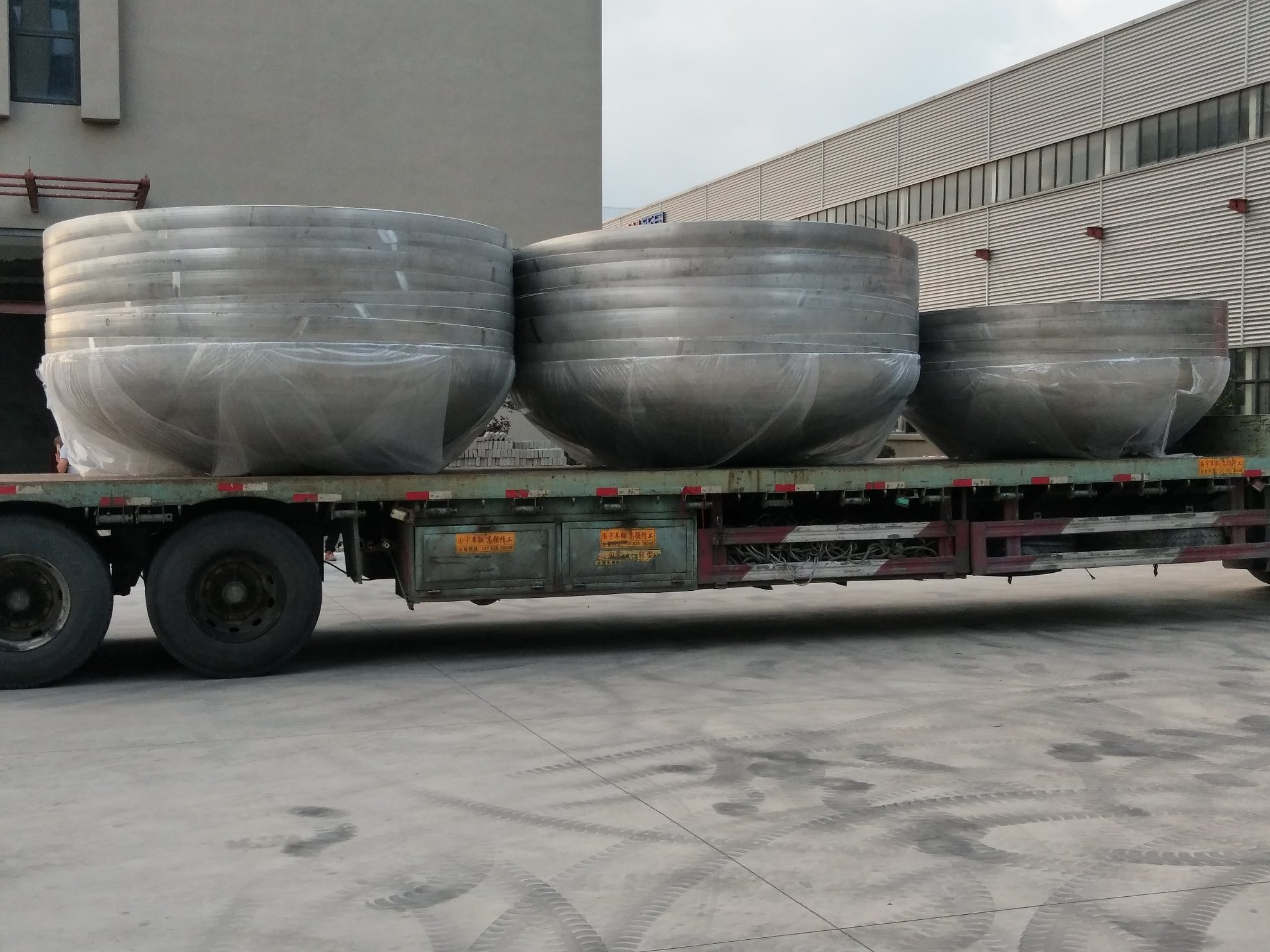 Industrial Forging Industrial Forging Dish End Or High Performance Stainless Steel Dished Seal Head Steel Boiler End Caps