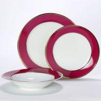 China Dish / Plate Set (SKR-066210663) - China Dish, Dishes