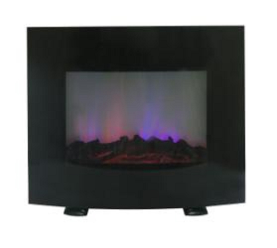 Curved Electric Fireplace China Wall Mount Electric Fireplace With Curved Glass Panel