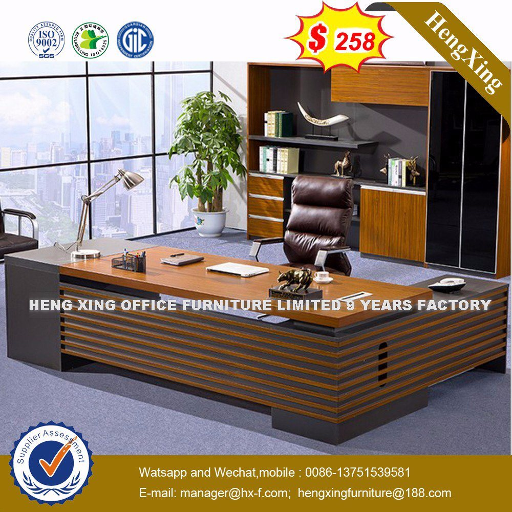 Cheap Price Furniture Hot Item Cheap Price Mfc Wooden Mahogany Color Chinese Furniture Hx Ncd217