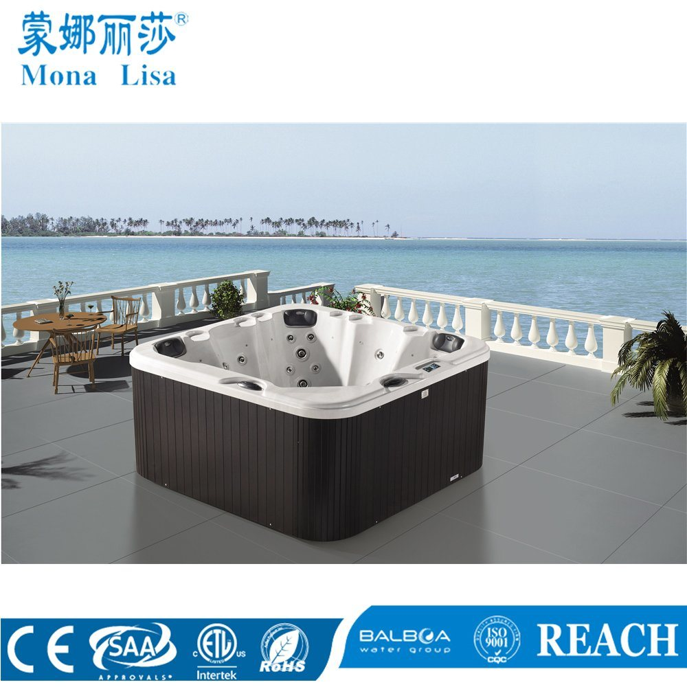 Aqua Whirlpools Hot Item Outdoor Deluxe Hydro Aqua Air Bubble Jets Whirlpool Massage Acrylic Spa Bathtub M 3352