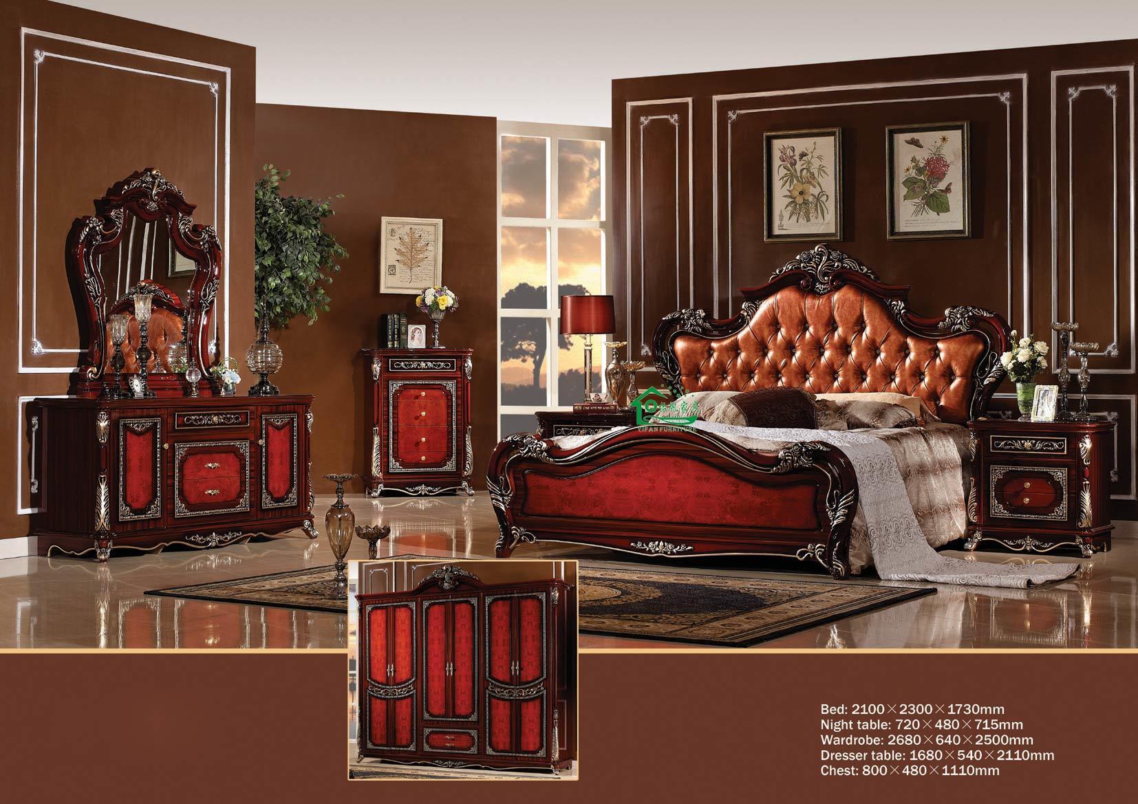 Chambre à Coucher King Size | Vue De Face D Un Intérieur De Chambre ...