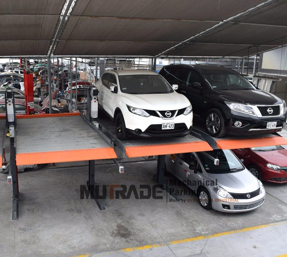 Garage Car Lift Images Hot Item Valet Mechanical Garage Vehicle Parking 2 Column Car Lift