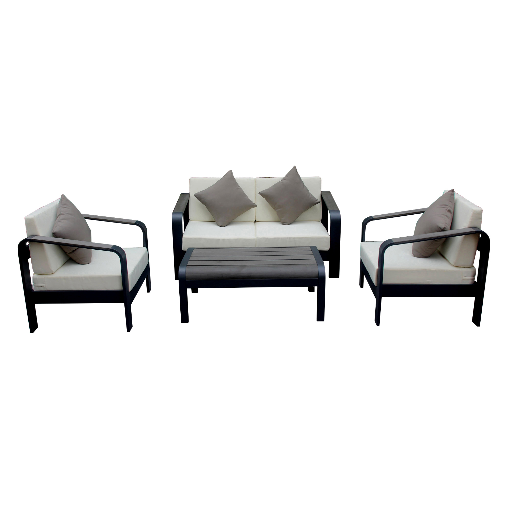 China Outside Living Belt And Road Garden Poly Wood Sofa Set Furniture For Sale China Garden Living Furniture Hotel Furniture