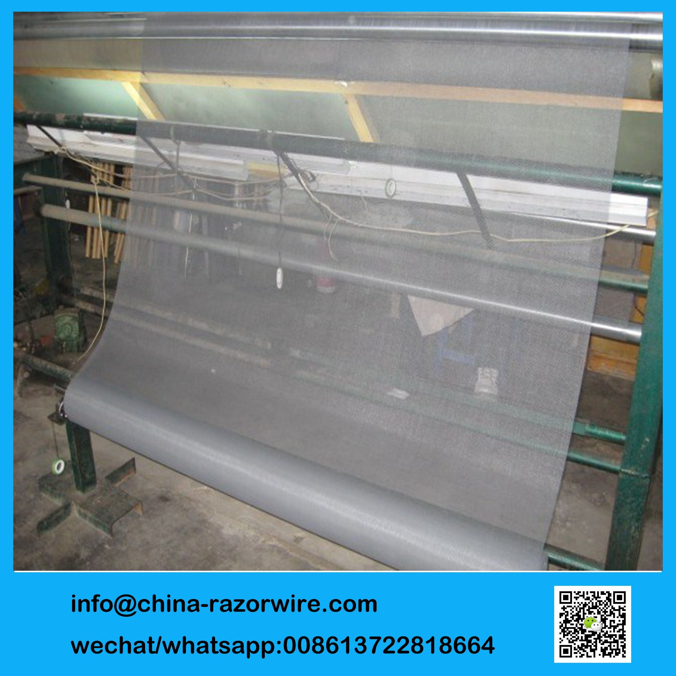 Mesh Window Screen Hot Item Grey Color Invisible Insect Fiberglass Window Screen Wire Mesh