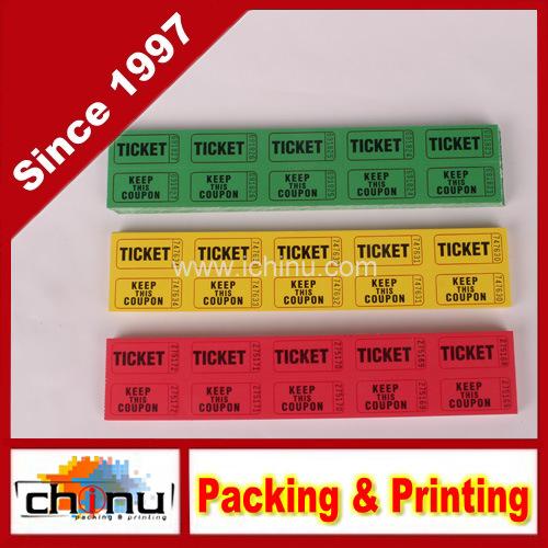 China Raffle Ticket Roll - 2000 Per Roll (420078) - China Raffle